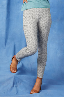 Capture Printed Bengaline Pant - 250047