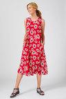 Capture Sleeveless Pocket Midi Dress