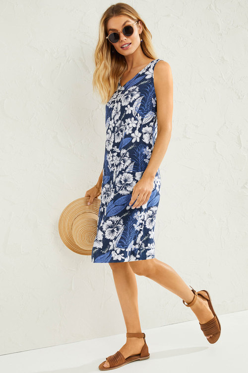 Capture Linen Pocket Shift Dress