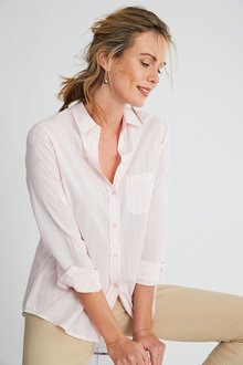 Capture Cotton Striped Shirt - 250088