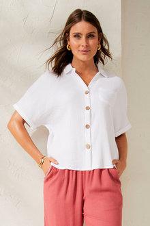 Capture Cotton Crinkle Short Sleeved - 250089