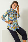 Capture Cotton Voile Printed Shirt