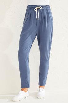Capture Stretch Cotton Casual Pants - 250112