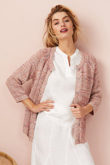 Capture Multi Yarn Cardigan - 250115