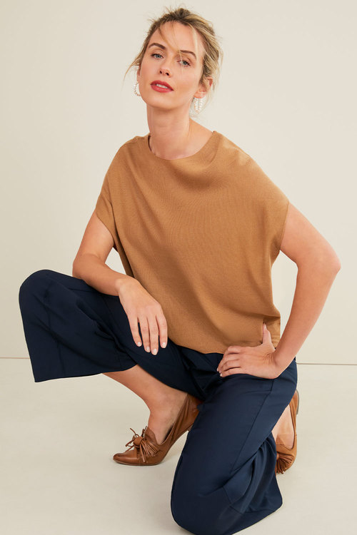 Capture Spring Poncho Top