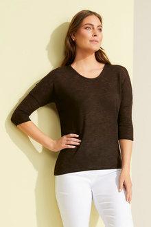 Capture Drop Shoulder Sweater - 250118