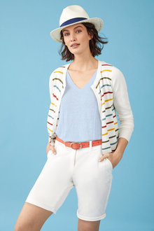 Capture Classic Stripe Cardigan - 250119