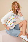Capture Classic Stripe Cardigan