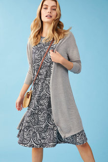 Capture Longline Cardigan - 250124