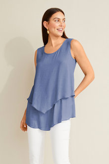 Capture Textured Layered Tank - 250133