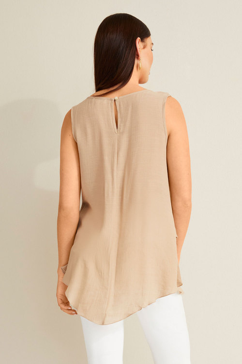 Capture Textured Layered Tank