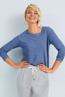 Capture Linen Blend Long Sleeve - 250193