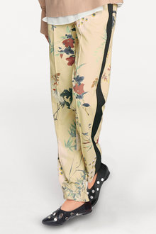 Heine Floral Relaxed Trousers - 250253