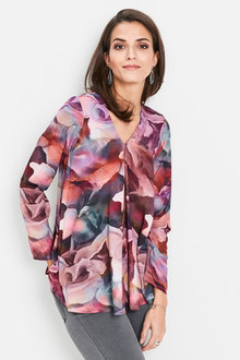 Euro Edit Printed Tunic