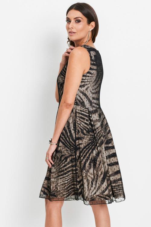 Euro Edit Animal Print Dress