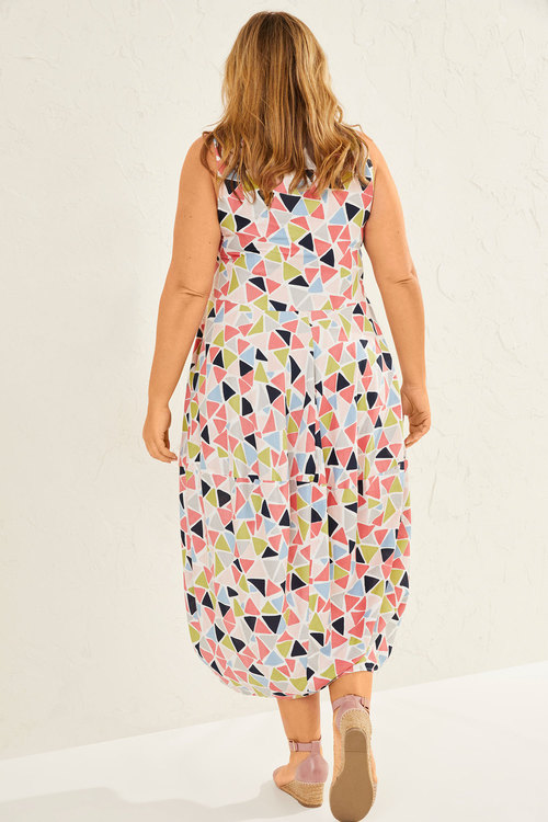 Sara Cocoon Drape Dress