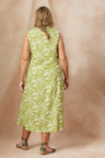 Plus Size - Sara Sleeveless Linen Shirt dress