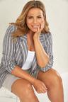 Plus Size - Sara Linen Blazer