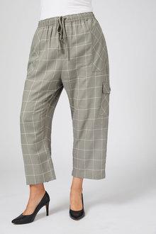 Sara Cargo Pocket Linen Pant - 250320