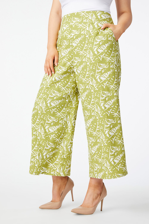 Sara Wide Leg Linen Pant