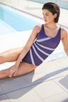 Quayside Square neck Swimsuit