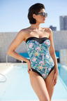 Quayside Sweetheart Neckline Swimsuit