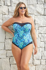 Quayside Woman Sweetheart Neckline Swimsuit