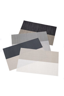 Duo Stripe Placemat Set of Four - 250386