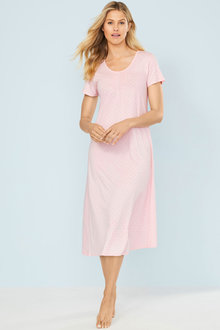 Mia Lucce Long Pintuck Nightie - 250471