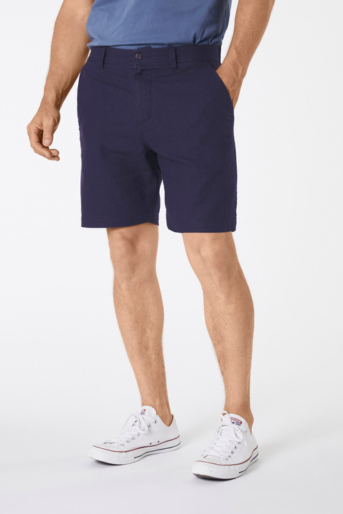 Jimmy+James Tailored Linen Blend Shorts