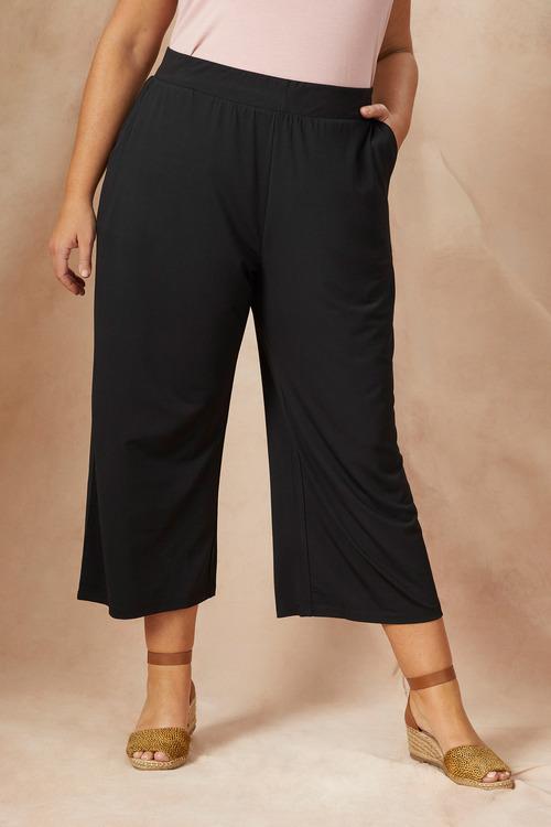 Plus Size - Sara Dry Knit Cullotte