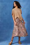 Capture Gather Waist Skirt