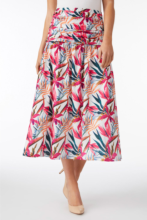 Capture Gather Waist Skirt