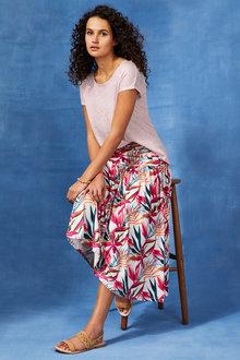 Capture Gather Waist Skirt - 250541