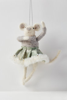 Glamour Mouse Hanging Decoration - 250576