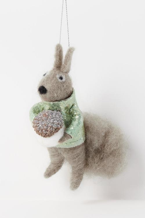 Glamour Squirrel Hanging Decoration
