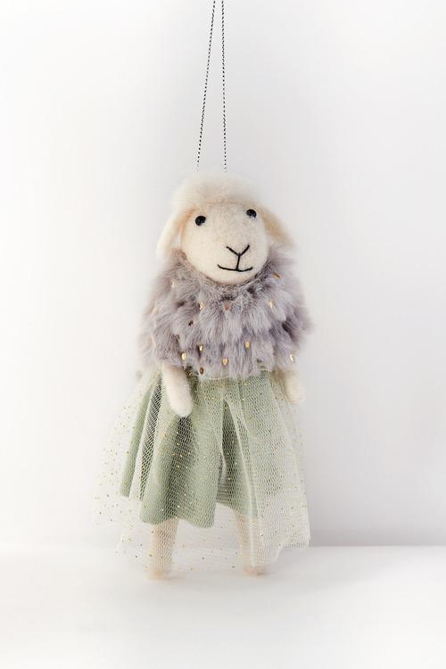 Glamour Sheep Hanging Decoration