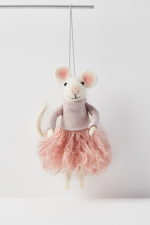 Pinkie Mouse Hanging Decoration