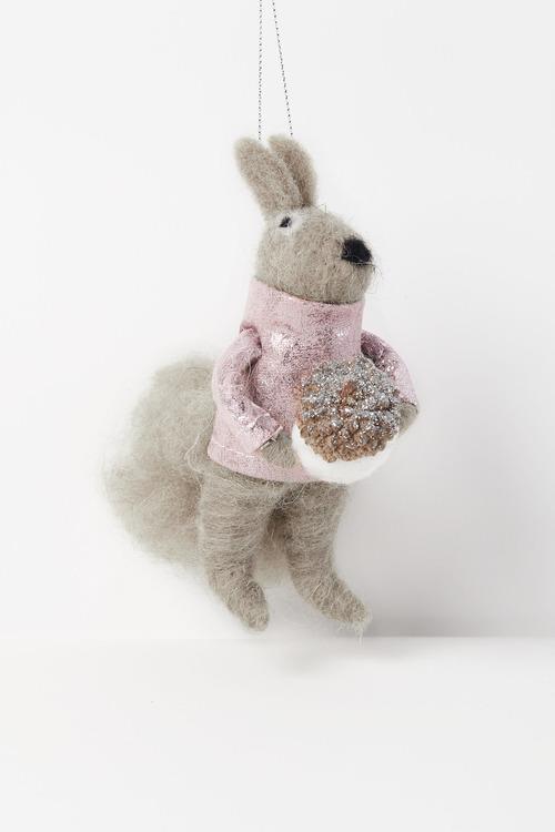 Pinkie Squirrel Hanging Decoration