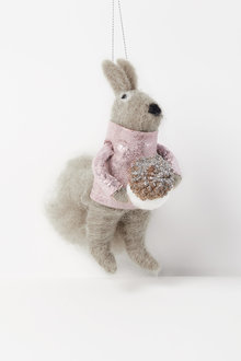 Pinkie Squirrel Hanging Decoration - 250591