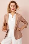 Capture Herringbone Linen Blend Jacket