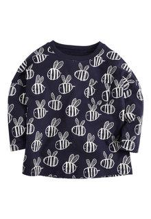 Next Printed Long Sleeve T-Shirt (3mths-7yrs)