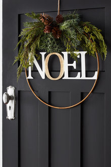 Noel Hoop Wreath - 250715
