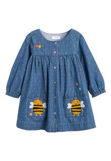 Next Button Through Dress (3mths-7yrs)