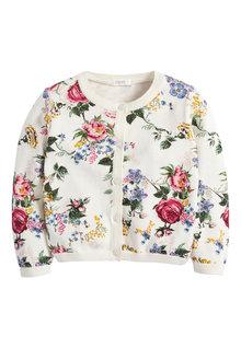 Next Floral Print Cardigan (3mths-10yrs)