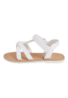 Next Glitter T-Bar Sandals (Younger) - 250735