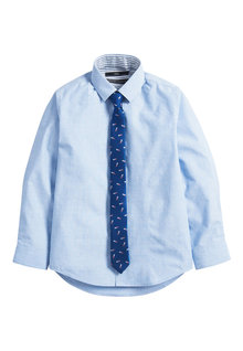 Next Shirt and Ice Lolly Print Tie Set (3-16yrs)