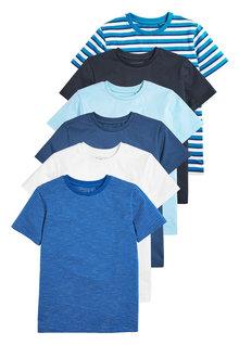 Next 6 Pack T-Shirts (3-16yrs)