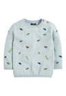 Next Embroidered Animal Jumper (3mths-7yrs)