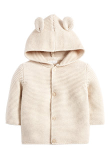 Next Hooded Ear Cardigan (0mths-3yrs) - 250857